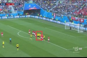 World Cup Free Kick Tactical Analysis