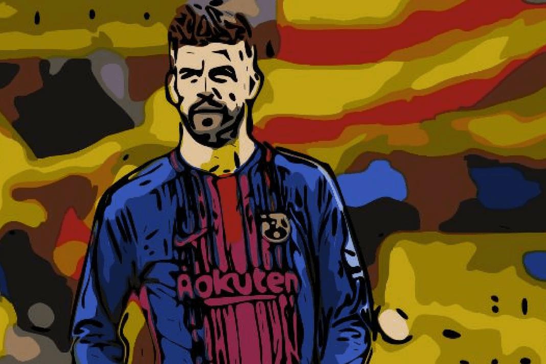 Gerard Pique Barcelona Spain Tactical Analysis