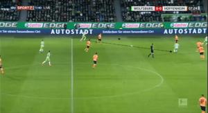 Gian-Luca Itter VfL Wolfsburg tactical analysis statistics