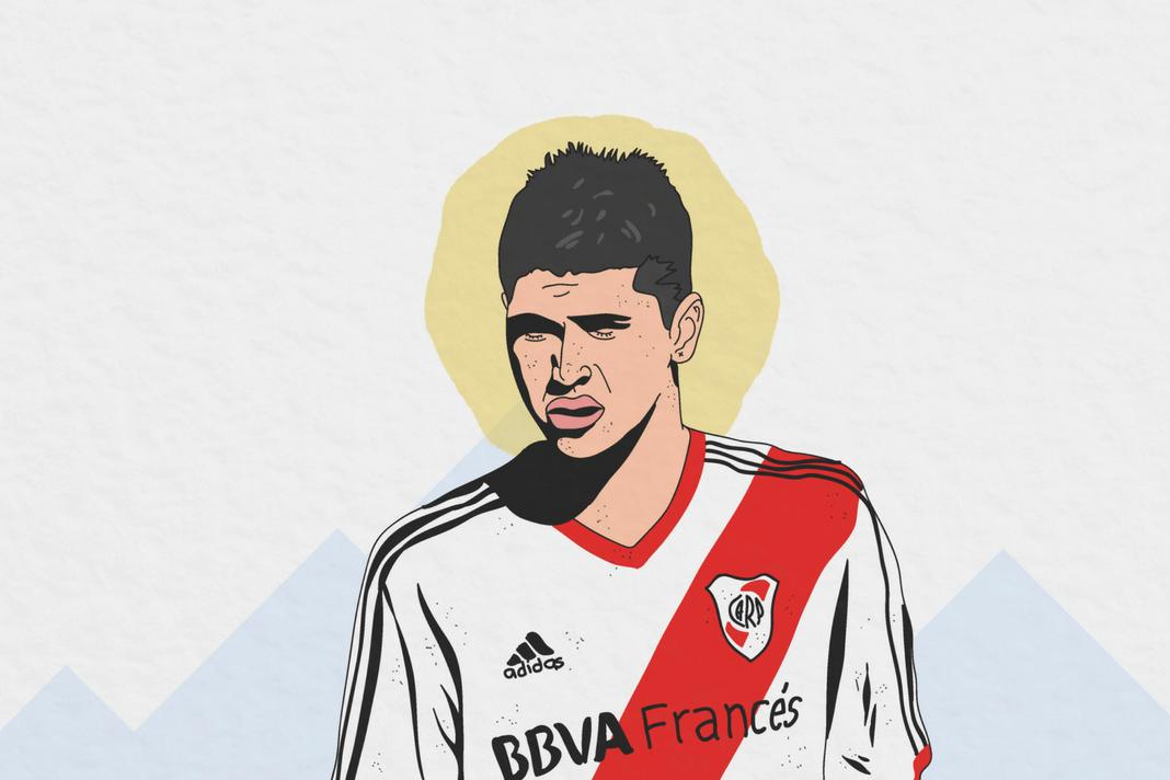 Exequiel Palacios River Plate Argentina Tactical Analysis