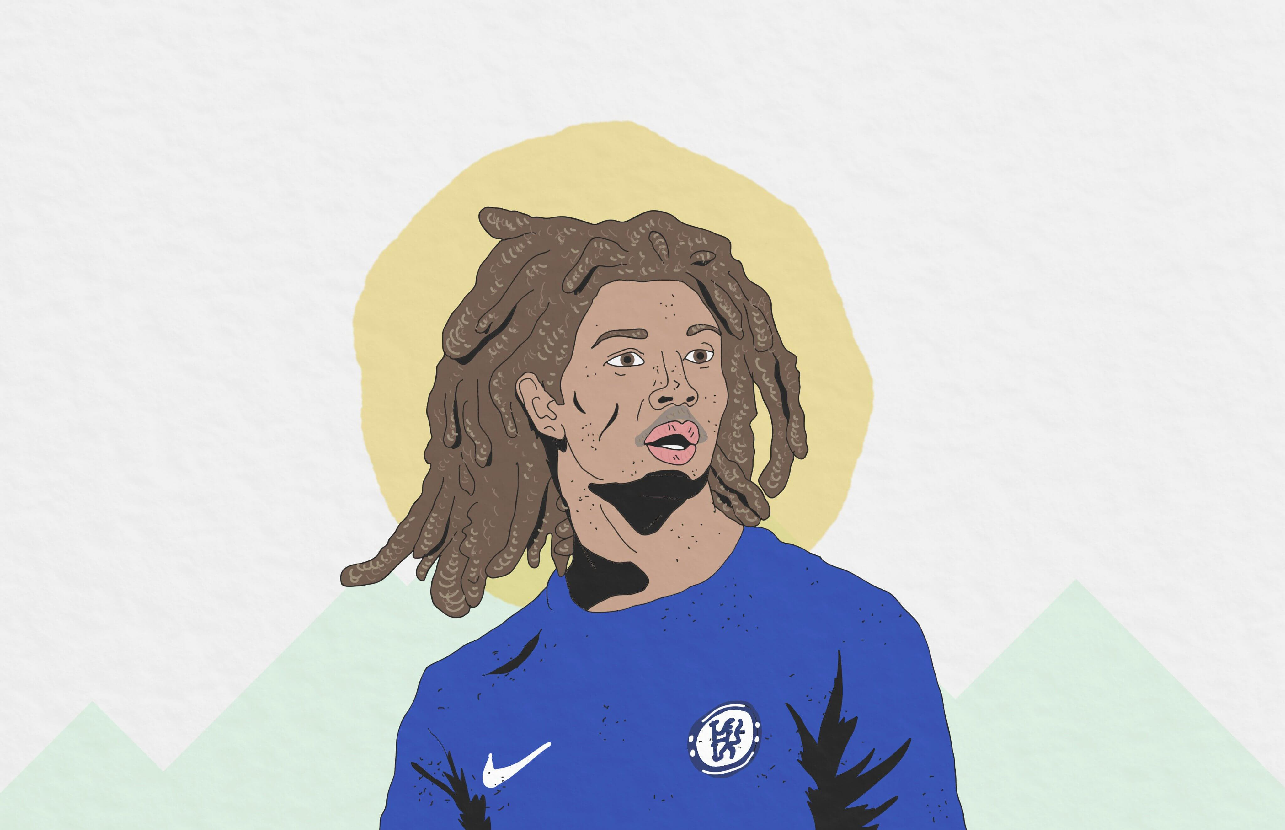 Ethan Ampadu Wales Chelsea Tactical Analysis