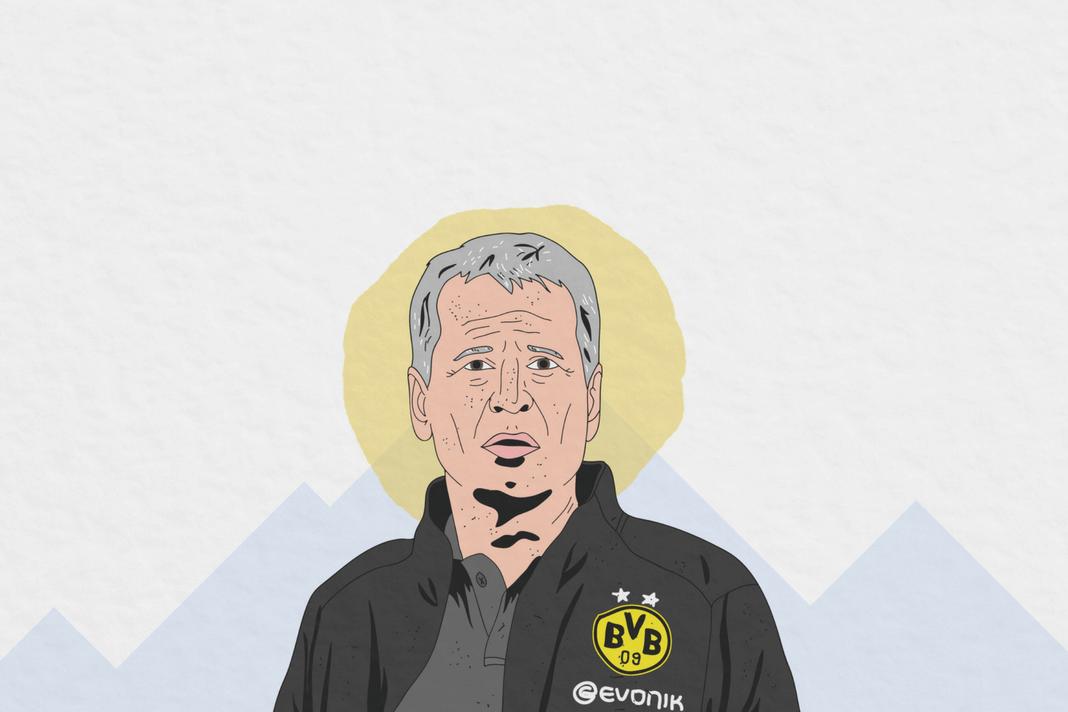 Lucien Favre Borussia Dortmund Tactical Analysis