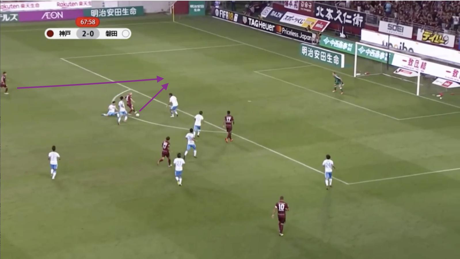 Andres Iniesta Vissel Kobe Tactical Analysis Statistics