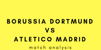Borussia Dortmund Vs Atletico Madrid tactical analysis