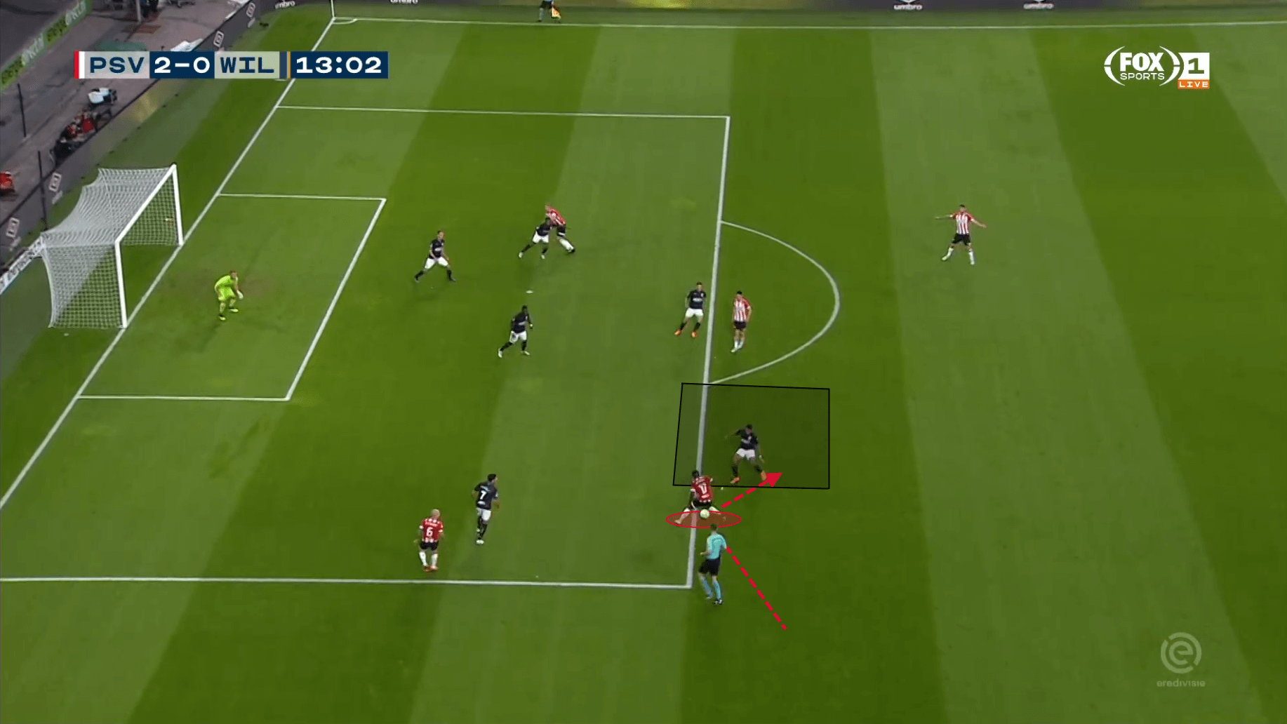 Steven Bergwijn PSV Eindhoven Eredivisie Tactical Analysis