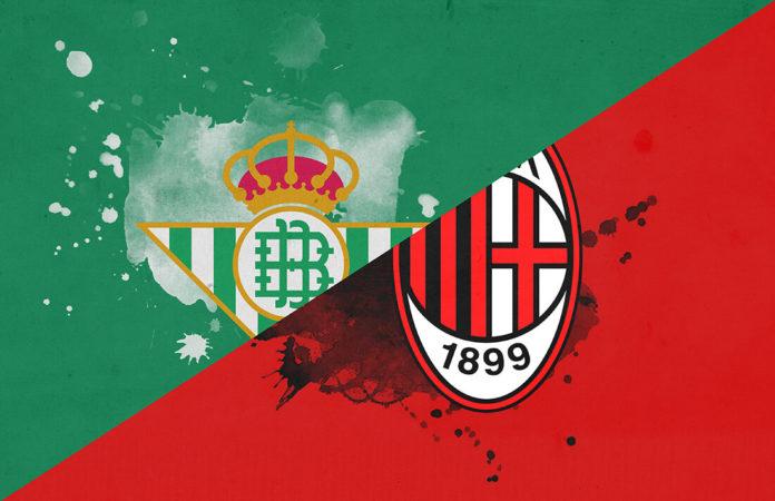 UEFA Europa League 2018/19: Real Betis vs AC Milan