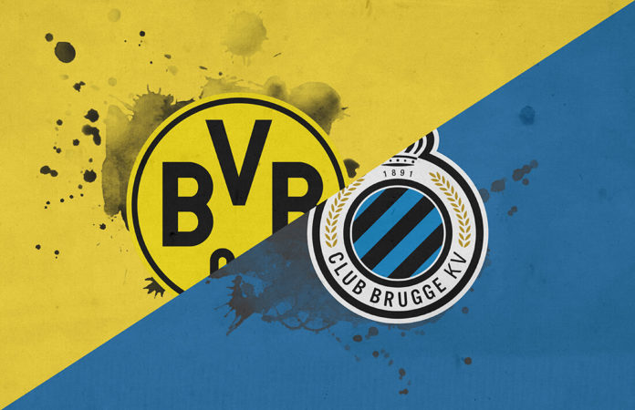 UEFA Champions League 2018/19: Borussia Dortmund vs Club Brugge Tactical Analysis Statistics