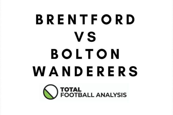 EFL Championship Brentford Bolton Wanderers Tactical Analysis