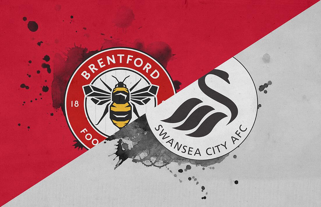 نتيجة بحث الصور عن Swansea City vs Brentford