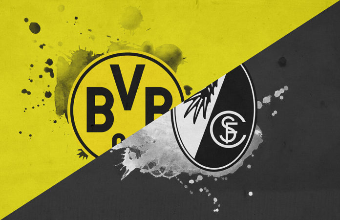 Bundesliga 2018/19: Borussia Dortmund vs Freiburg Tactical Analysis Statistics