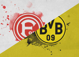 Bundesliga 2018/19: Dusseldorf vs Borussia Dortmund Tactical Analysis Statistics