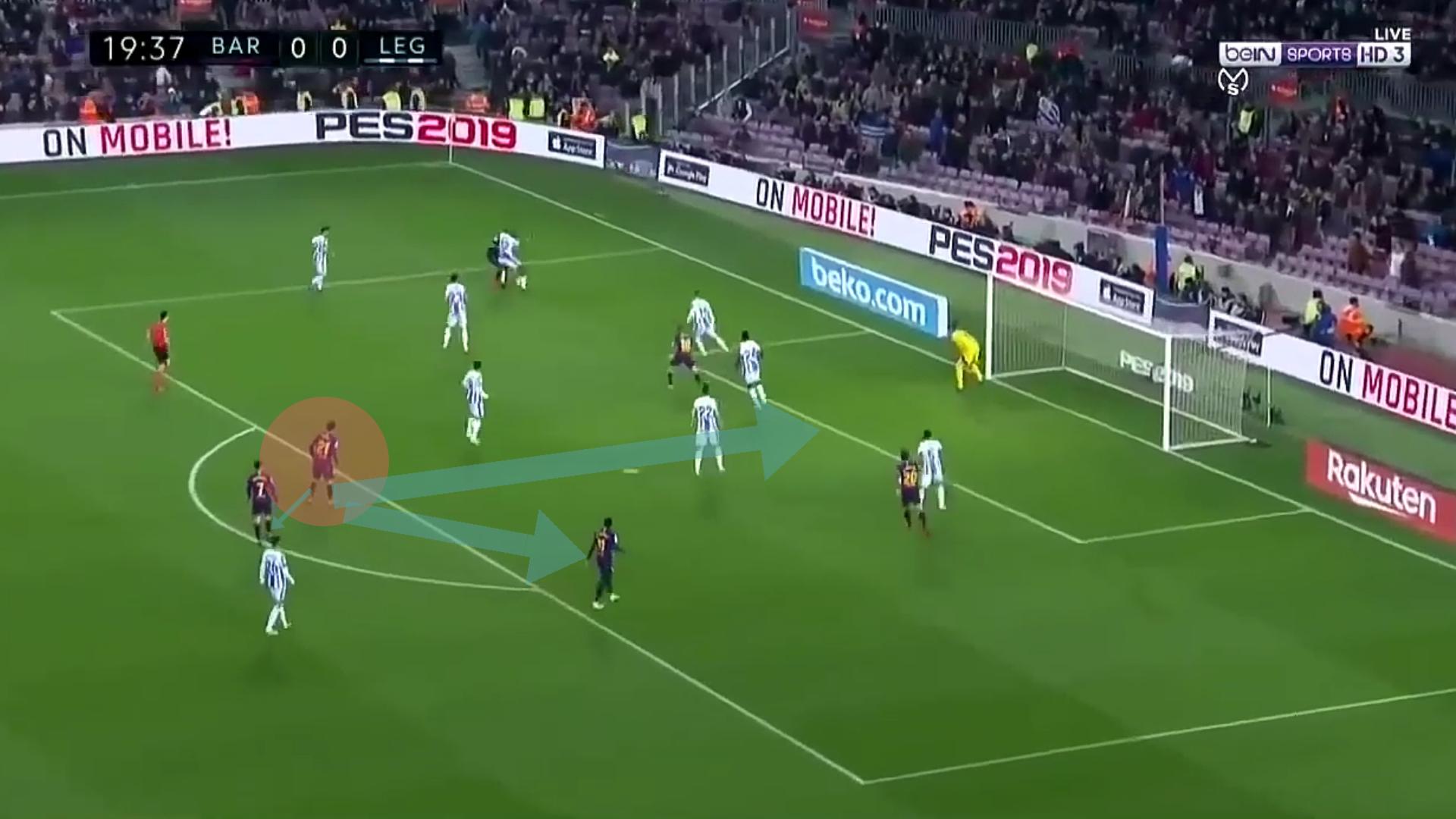 La Liga-Barcelona-Leganes-Tactical analysis-Analysis