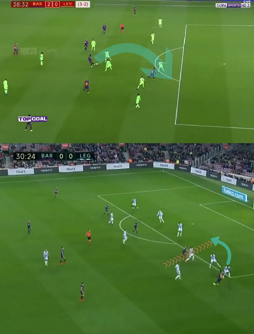 La Liga-Barcelona-Leganes-Tactical analysis-analysis