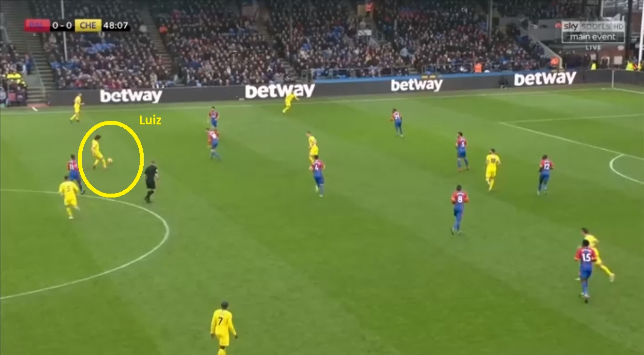 Crystal Palace Chelsea Premier League Tactical Analysis