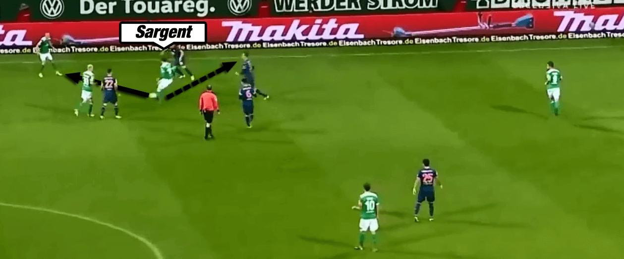 Sargent Werder Bundesliga Tactical Analysis Statistics