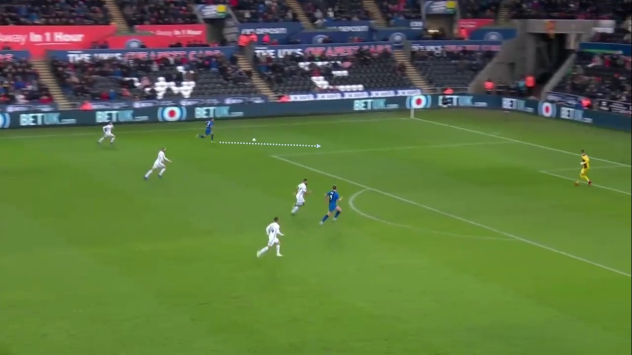 FA Cup 2018/19: Swansea City vs Gillingham Tactical Analysis Statistics