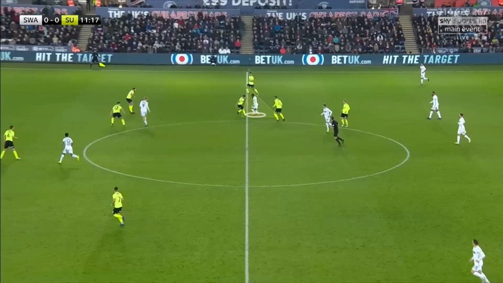 EFL Championship 2018/19: Swansea vs Sheffield United Tactical Analysis Statistics