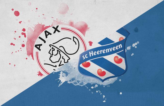 Eredivisie 2018/19: Ajax vs Heerenveen Tactical Analysis Statistics