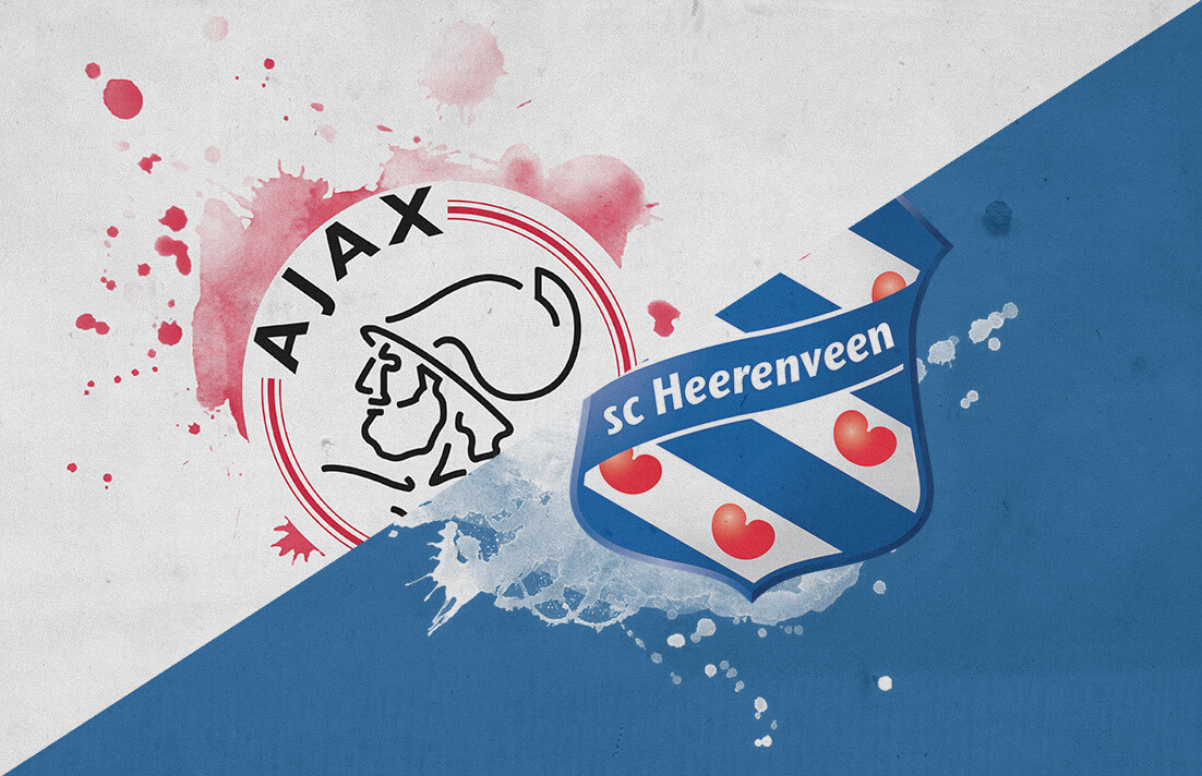 Eredivisie 2018/19: Ajax vs Heerenveen Tactical Analysis Statistics
