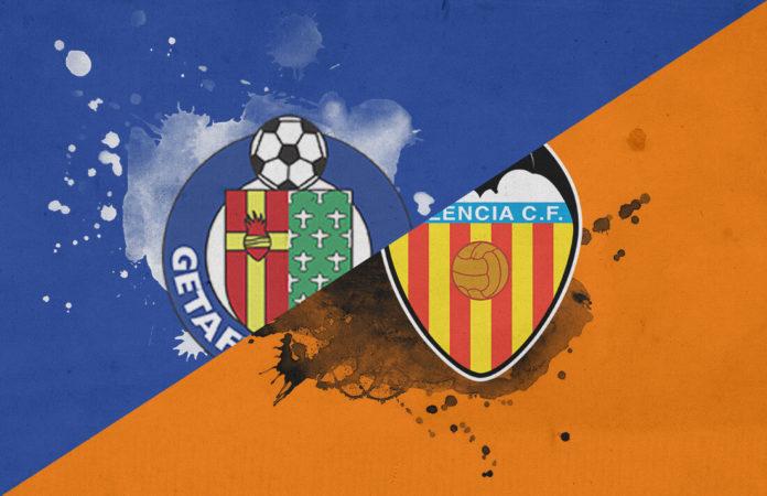 Getafe Valencia Copa del Rey 2018/19 Tactical Analysis Statistics