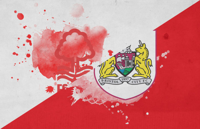 EFL Championship 2018/19: Nottingham Forest vs Bristol City Tactical Analysis Statistics