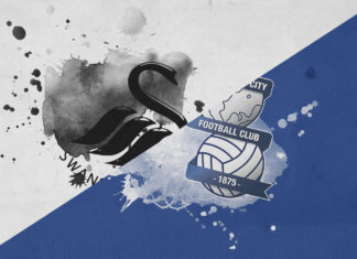 EFL Championship 2018/19: Swansea vs Birmingham City Tactical Analysis Statistics