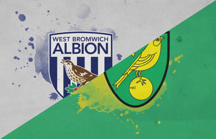 EFL Championship 2018/19: West Brom vs Norwich Tactical Analysis Statistics