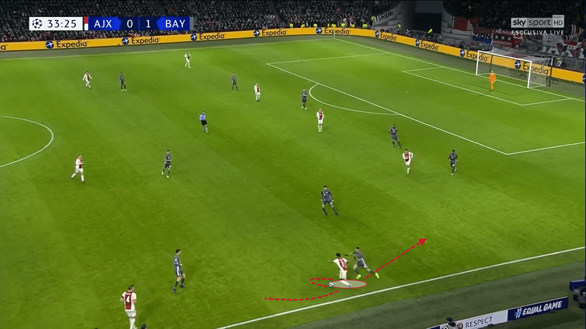 David Neres Ajax Tactical Analysis Statistics Eredivisie