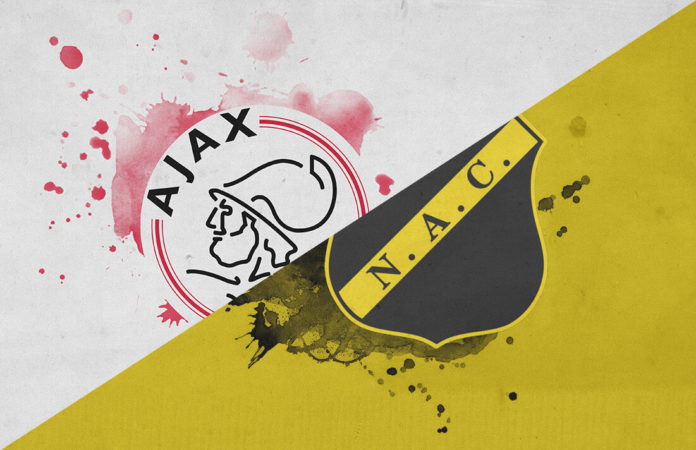 Eredivisie 2018/19 Ajax NAC Breda Tactical Analysis Statistics