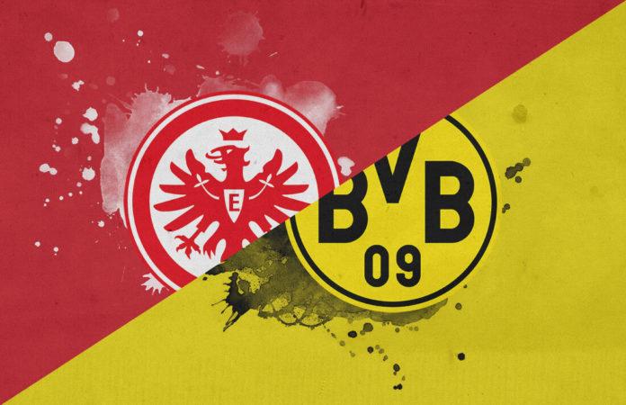 Bundesliga 2018/19 Eintracht Frankfurt Borussia Dortmund Tactical Analysis Statistics