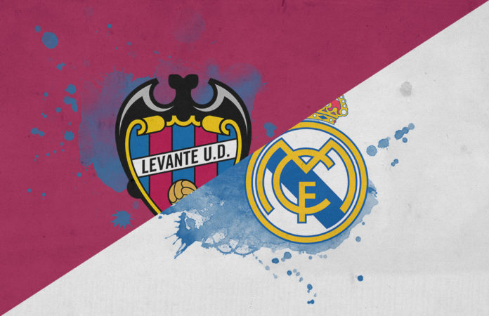 La Liga 2018/19 Levante Real Madrid Tactical Analysis Statistics