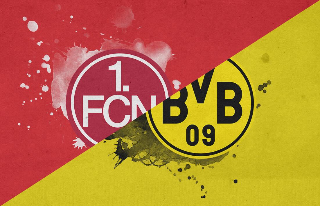 Bundesliga 2018/19 Nuremberg Borussia Dortmund Tactical Analysis Statistics