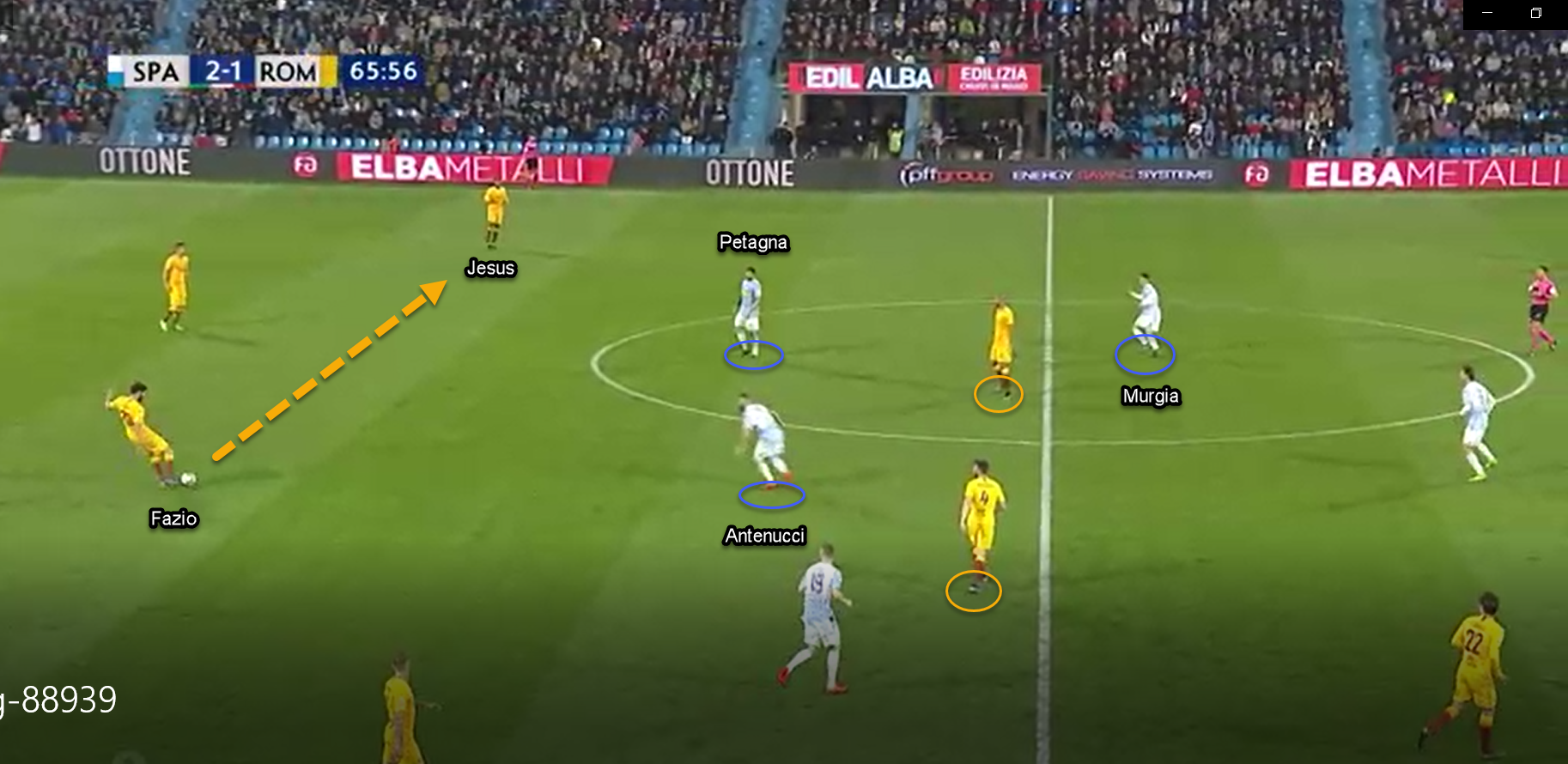 SPAL Roma Serie A Tactical Analysis