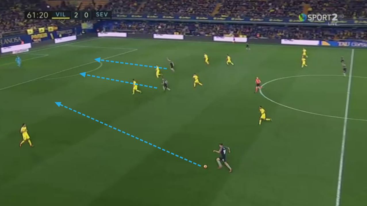 Maximilian Wöber Sevilla Tactical Analysis Statistics