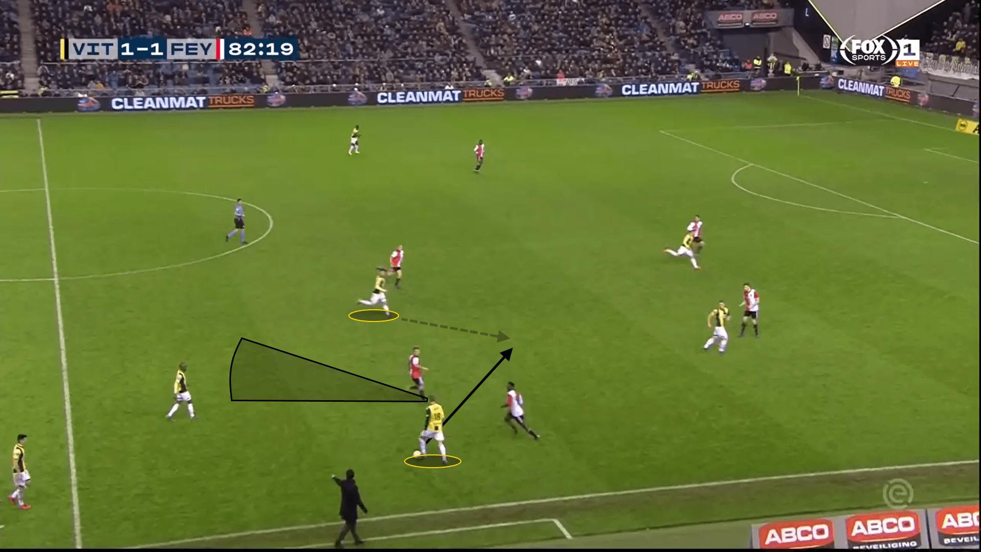 Martin Ødegaard Vitesse Eredivisie Tactical Analysis Statistics