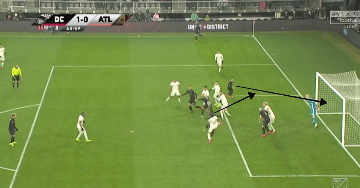 DC United Atlanta United MLS 2019 Tactical Analysis Statistics