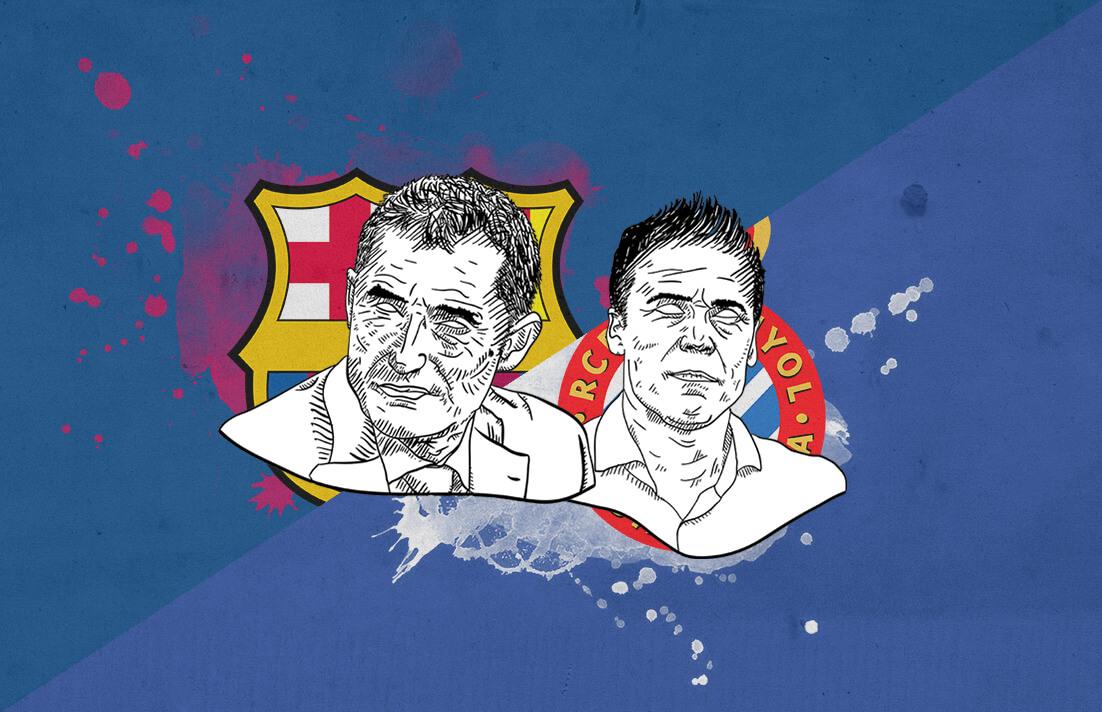 La Liga 2018/19 Barcelona Espanyol tactical analysis