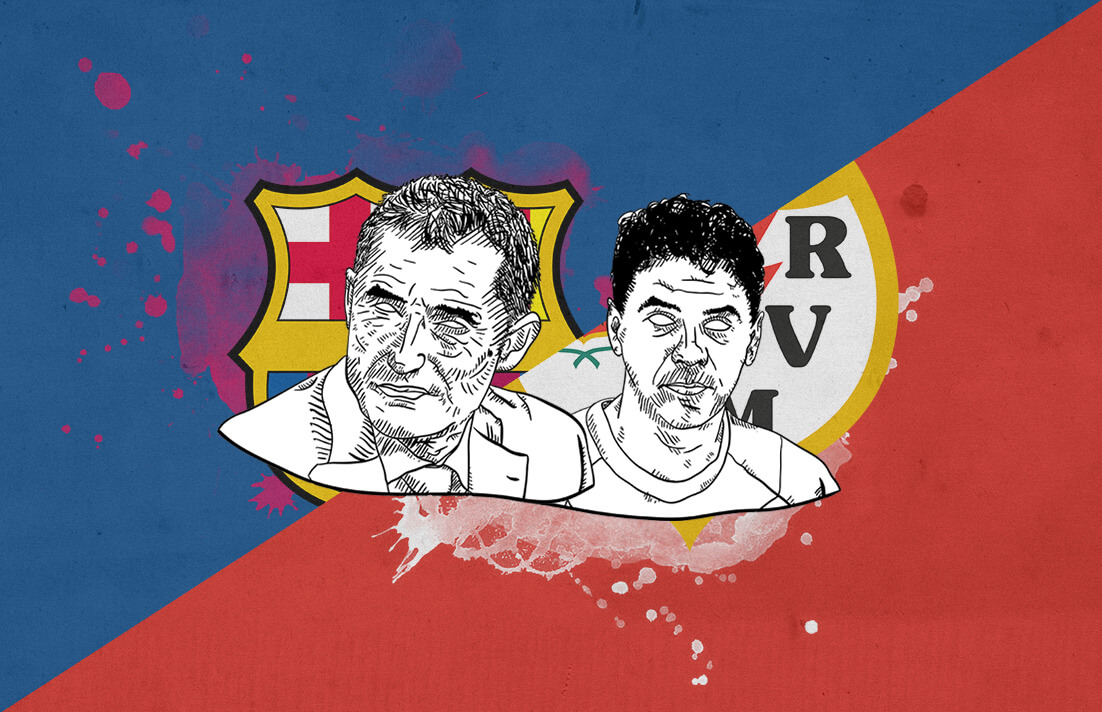 La Liga 2018/19 Barcelona Rayo Vallecano Tactical Analysis Statistics