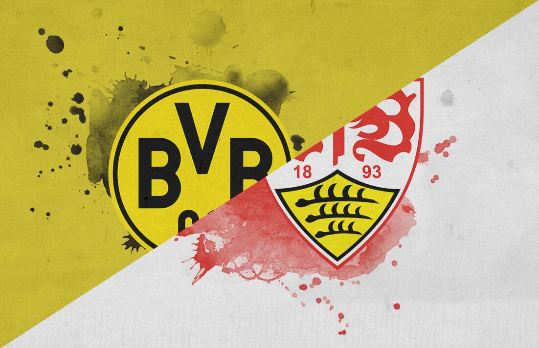 Bundesliga 2018/19 Borussia Dortmund Stuttgart Tactical Analysis Statistics