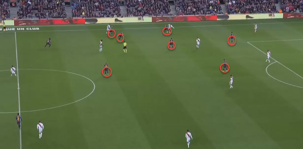 La Liga Barcelona Rayo Vallecano Tactical Analysis Statistics