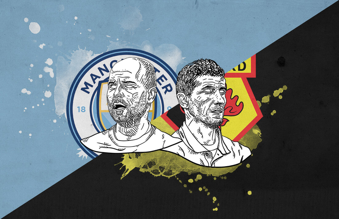 Premier League 2018/19 Manchester City Watford Tactical Analysis Statistics