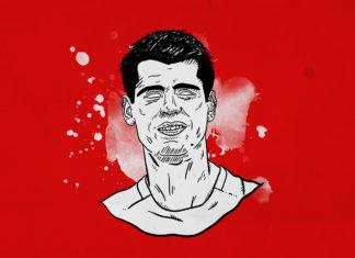 Alvaro Morata Atletico Madrid tactical analysis statistics