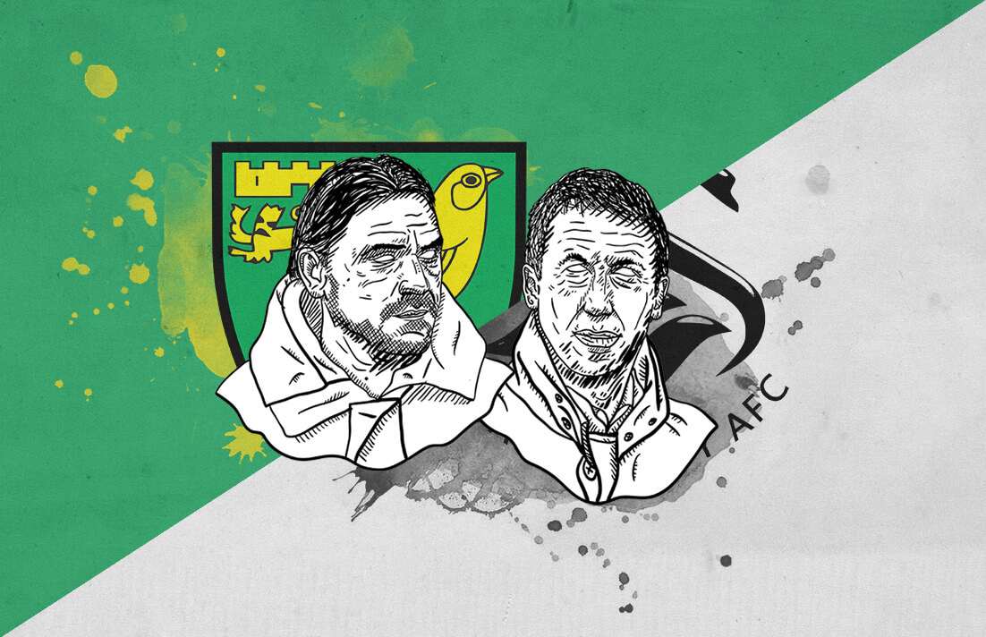 EFL Championship 2018/19 Norwich City Swansea City Tactical Analysis Statistics