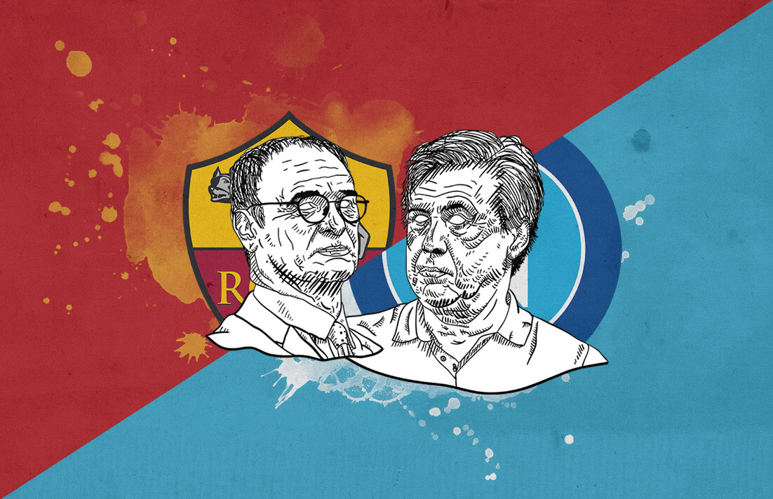 Serie A 2018/19 Roma Napoli tactical analysis