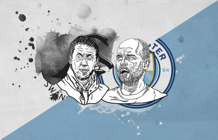 FA Cup 2018/19 Swansea Manchester City tactical analysis