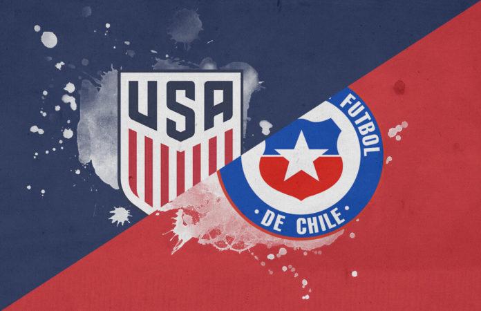 USA Chile international friendly tactical analysis