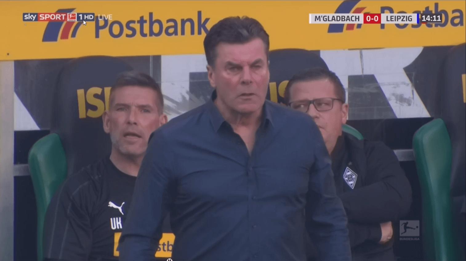 Gladbach RB Leipzig Bundesliga tactical analysis