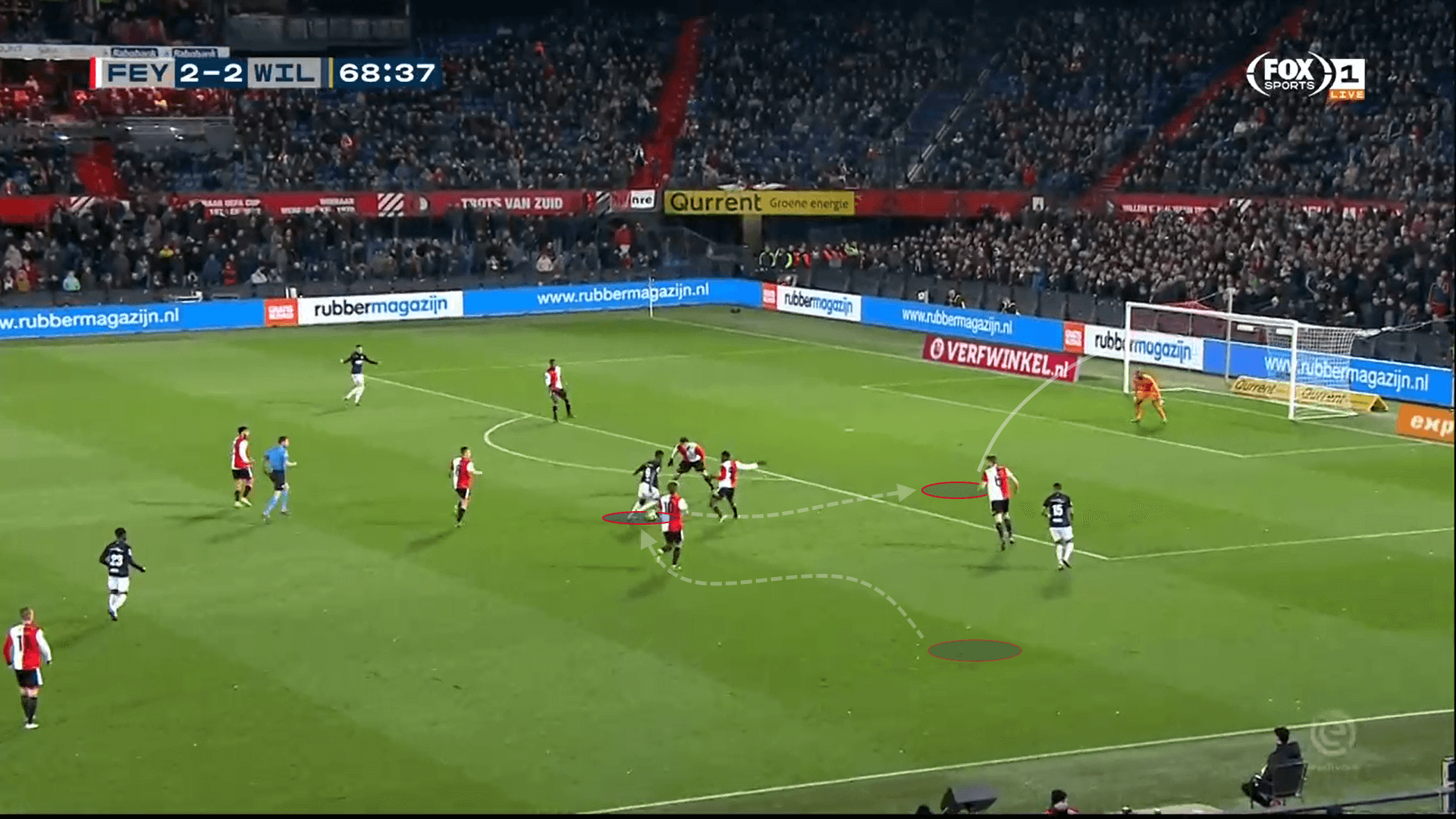 Alexander Isak Willem II tactical analysis statistics