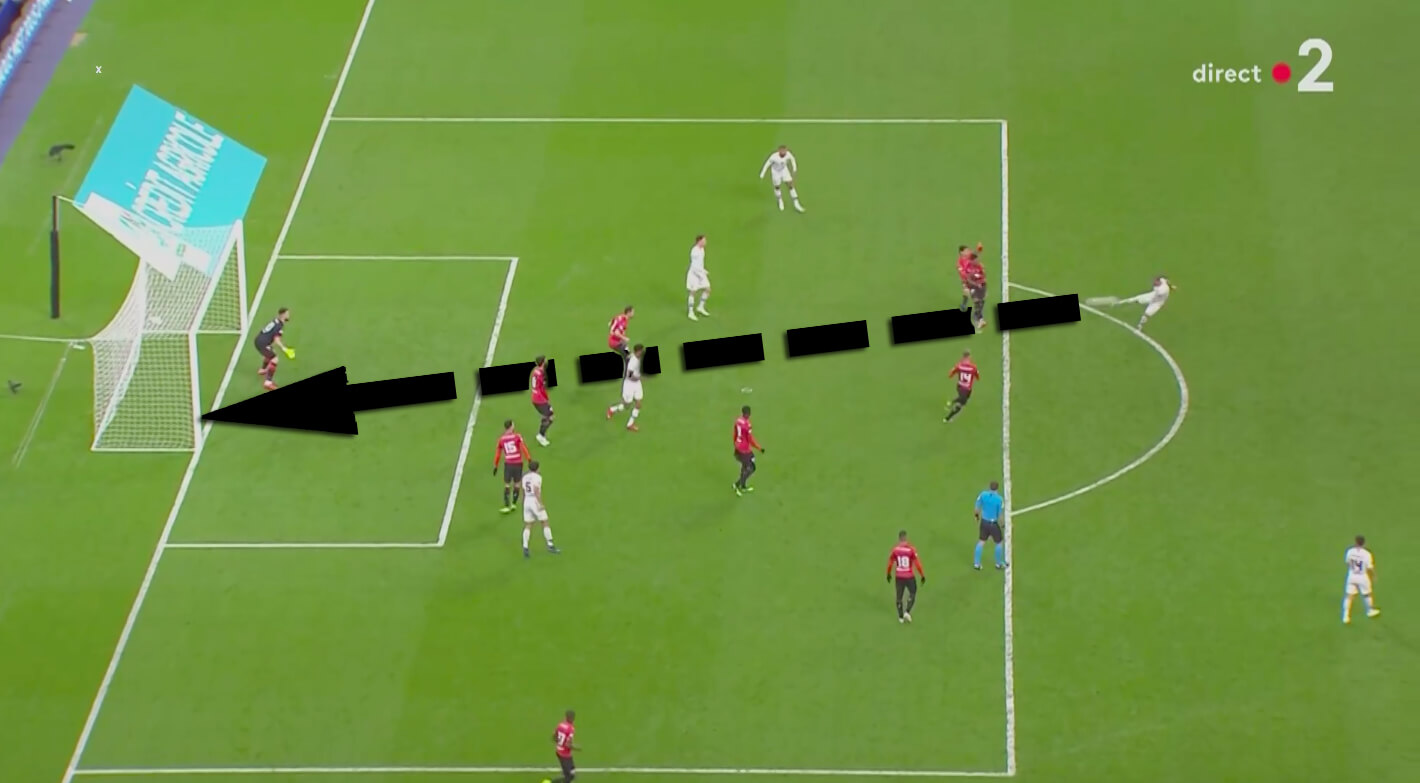 Coupe de France 2018/19: Rennes PSG Tactical Analysis Statistics