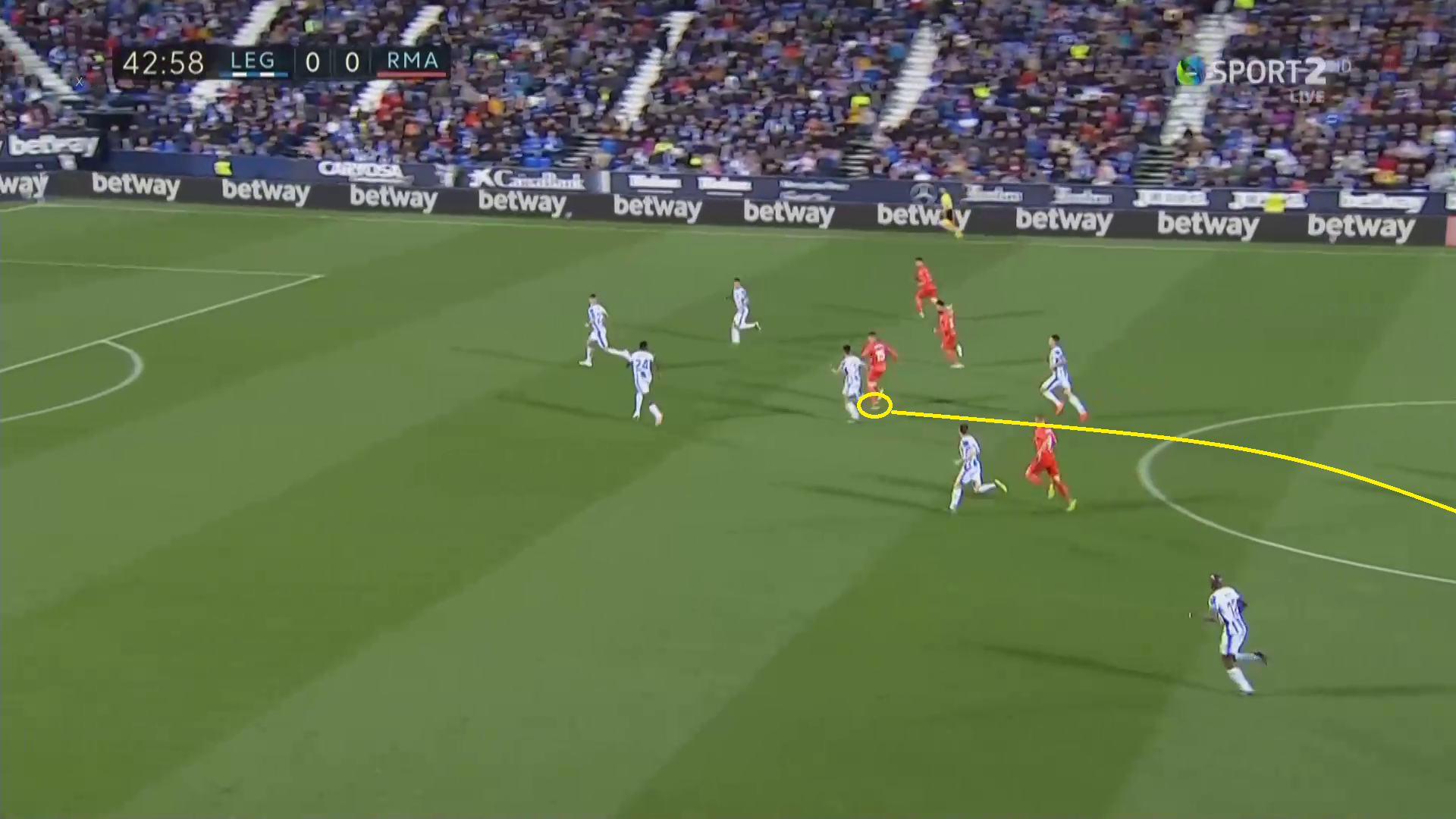 Tactical Analysis Leganés Real Madrid La Liga